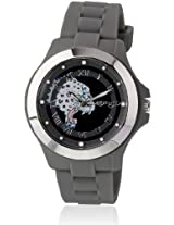Eh 1116 Gm Grey/Black Analog Watch