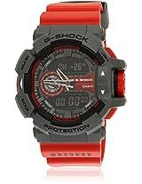 G567-Ga-400-4Bdr Red/Grey G-Shock Analog & Digital Watch Casio