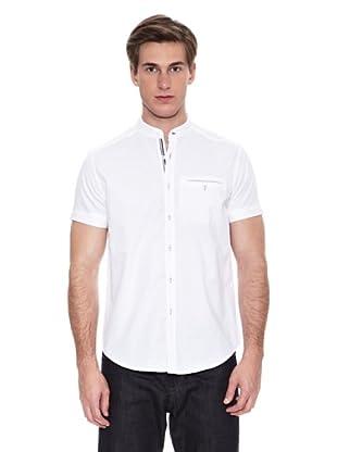 Springfield Camisa Vestir M/C. N1 Liso Dobby Mao