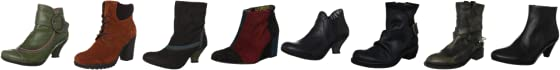 El Campero Women's Riding Road Ankle Boots