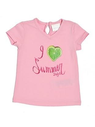 Diesel Camiseta Tensyb (Rosa)