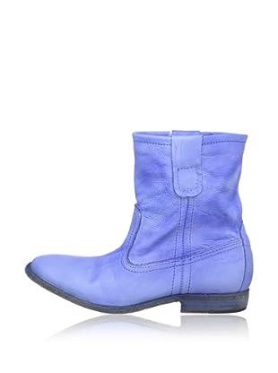Buffalo London ES 30195 GARDA SPRUZZATO 142324 - Botas de cuero  mujer (Azul)
