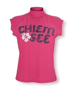 Chiemsee Camiseta Surfshirt (Fucsia)