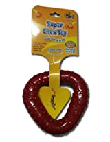 Super Dog Rubber Trio Ring Toy