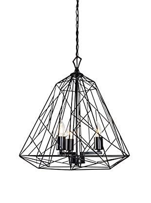 Varaluz Wright Stuff 3-Light Pendant, Black