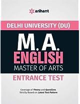 The Perfect Study Resource for - Delhi University (DU) M.A. English Entrance Test