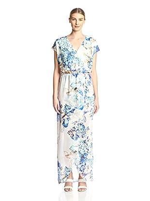 Kaya di Koko Women's Printed Maxi Dress