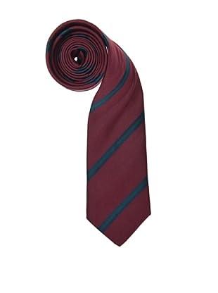 El Ganso Corbata Ancha Rayas (Granate)