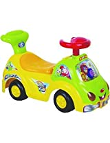 Toy House Ride On Push Car - Yellow