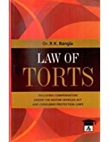 Law of Torts With Consumer Protection Act