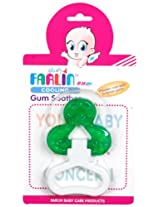 Farlin BF 142 Water Filled Cooling Gum Soother with Handle (Green)