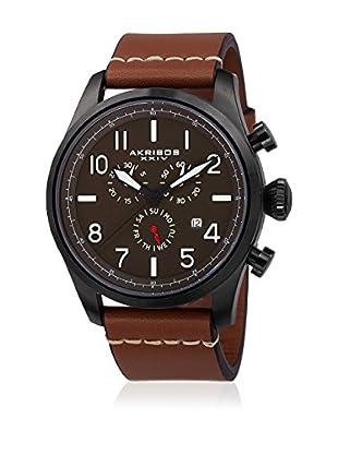 Akribos XXIV Reloj con movimiento cuarzo suizo Man AK705TN Cognac
