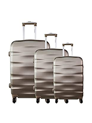 ZIFEL Set 3 Trolley Rigido 1616
