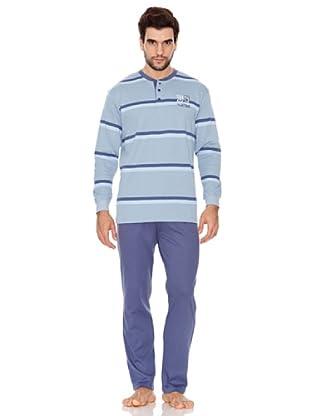 Basket Pijama Caballero (Azul)