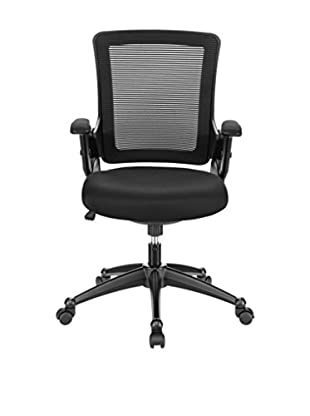 Modway Aspire Fabric Office Chair (Black)
