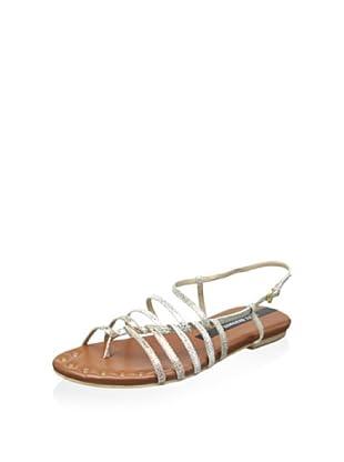 Matt Bernson Women's Latitude Sandal (Multi Metallic)