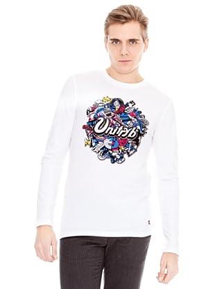 Unitryb Camiseta Manga Larga (Blanco)
