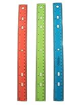 Jot Plastic Rulers (3 Pack)