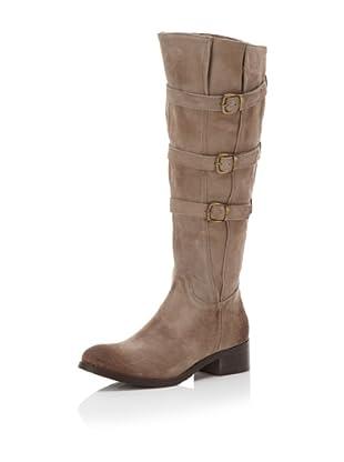 Chocolat Blu Women's Nikki Suede Knee-High Boot (Taupe)