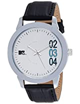 MTV Analog White Dial Men's Watch - M-3009