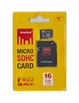 16 GB Strontium microSDHC Memory Card (Class 10) with Adapter