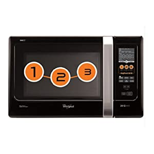 WHIRLPOOL MICROWAVE OVEN GRILL MAGICOOK? 20G (ELEC) 1-2-3(20 L)
