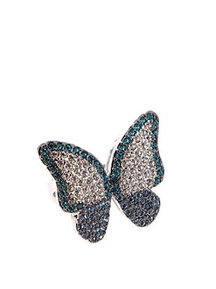 Lola Casademunt Anillo Mariposas (Azul)