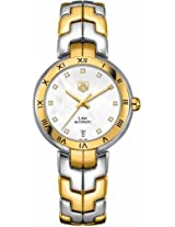Tag Heuer Link Two-Tone Diamond Automatic Ladies Watch Wat2351.Bb0957