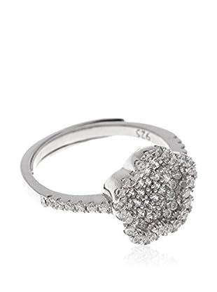 Silver One Anillo Zirconium Amiqui
