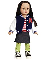 "Madame Alexander Varsity Girl 18"" Doll, Favorite Friends Collection"