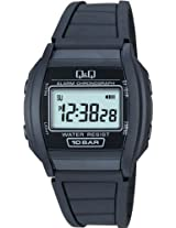 Q&Q Digital Grey Dial Men's Watch - ML01-101
