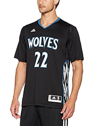 adidas Camiseta Manga Corta Minnesota Timberwolves