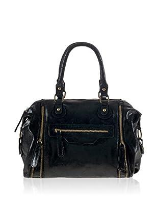 PITTI BAGS Bowling Bag  schwarz