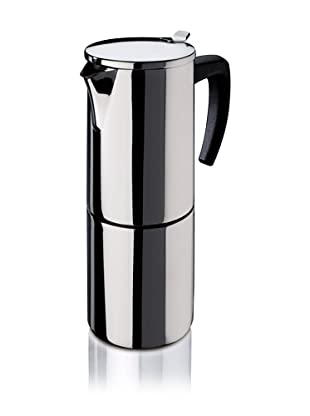 Fagor - Cafetera Inox Etna10, 10 Tazas, 900 Ml, Acero Inox, Asa Soft