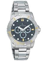 Titan Octane Multi-Function Analog Black Dial Men's Watch - 9490SM02J