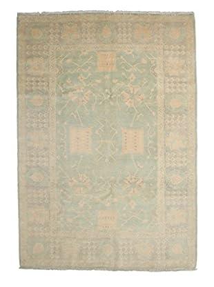 Darya Rugs Oushak Oriental Rug, Green, 6' 3