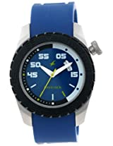 Fastrack Beach Analog Blue Dial Men's Watch - 3006SP02