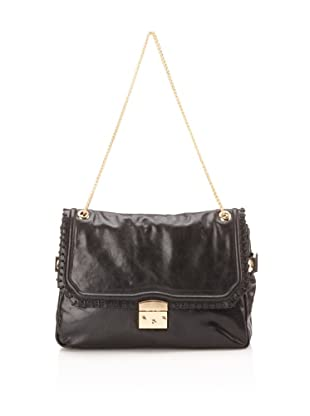 Be&D Women's Henley Leather Shoulder Bag (Onyx)
