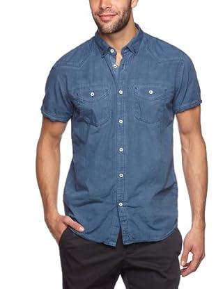 Tom Tailor Camisa Scansano (Azul noche)
