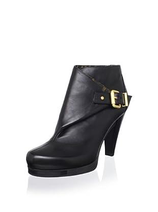Fendi Women's Buckled Bootie (Black)