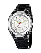 Calypso Analog White Dial Men's Watch - K5560/1