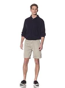 Nüco Men's Twill Shorts (Khaki)
