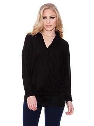 Firetrap Camiseta Solapado (Negro)
