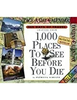 1000 Places to See Before You Die 2007 (Page a Day Calendar)