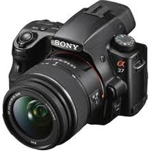 Sony SLT -A37 DSLR Camera - Black