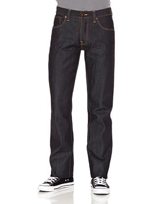 Nudie Jeans Pantalón Average Joe (Azul oscuro)