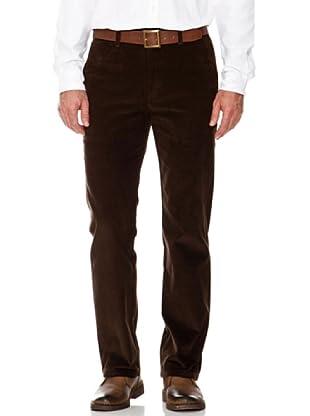 Dockers Pantalón Recto Pana (marrón)