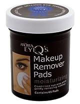Andrea EyeQs Moisturizing Eye Make Up Remover, 65 Pads