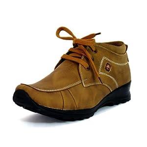 Fbt Men's 201 Dapper Brown Casual Shoes - 9