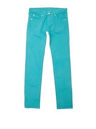 Pepe Jeans London Pantalón Shelley (Turquesa)